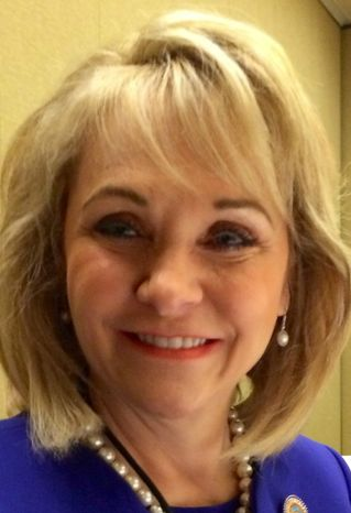 Oklahoma Gov. Mary Fallin. (Image provided by Ralph Z. Hallow)