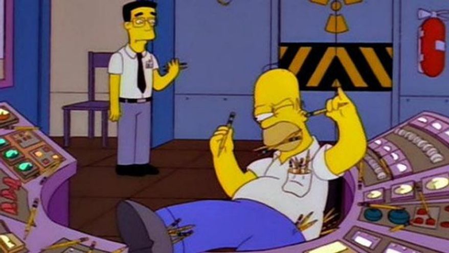 Homer Simpson featured in the FOX comedy.