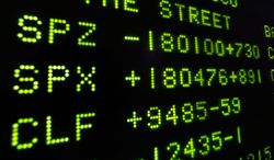 A board at the New York Stock Exchange shows the closing number for the Stand & Poor's 500 index, center, Friday, Nov. 22, 2013. The S&P rose nine points, or 0.5 percent, to close at 1,804.76. The stock market is on track for a 27 percent gain this year.  (AP Photo/Richard Drew)
