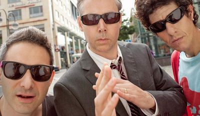"**FILE** In this undated publicity image released by Nasty Little Man, Beastie Boys group members (from left) Adam ""Ad-Rock"" Horovitz, Adam ""MCA"" Yauch and Michael ""Mike D"" Diamond are shown. (Associated Press/Nasty Little Man)"
