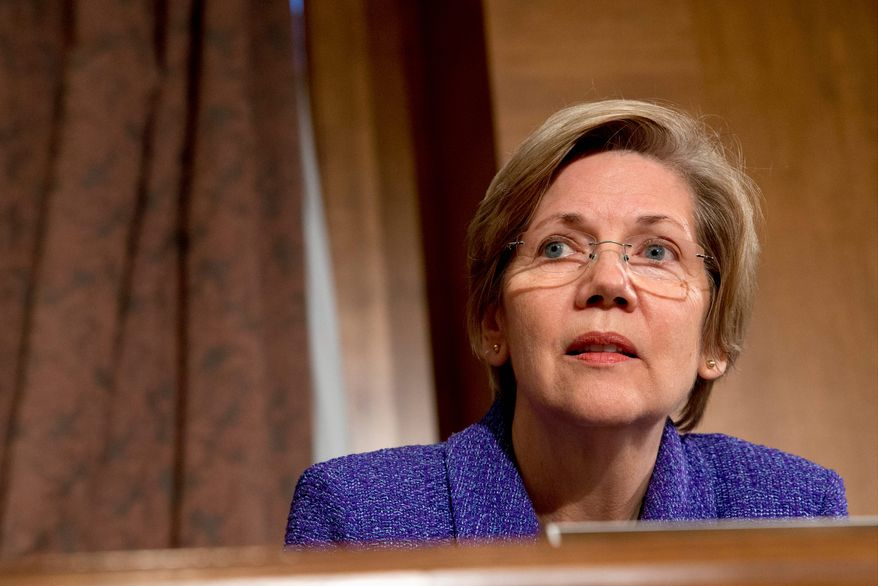Sen. Elizabeth Warren has helped energize liberal Democrats who accuse the Obama administration of not fighting hard enough for issues they care about. (Associated Press)