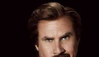 """The cover of """"Ron Burgundy: Let Me Off at the Top!"""""""