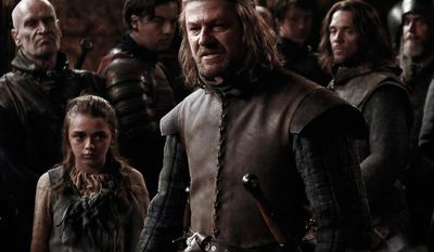 "Sean Bean as Eddard Stark in the Blu-ray release ""Game of Thrones: The Complete First Season."" (Courtesy HBO Home Video)"
