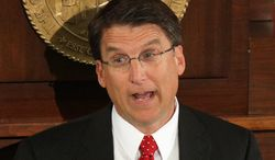 North Carolina and Gov. Pat McCrory, a Republican, are the latest to come under direct fire from a White House that admittedly is waging a full-blown PR offensive on Medicaid expansion in response to Obamacare's rocky rollout. (Associated Press)