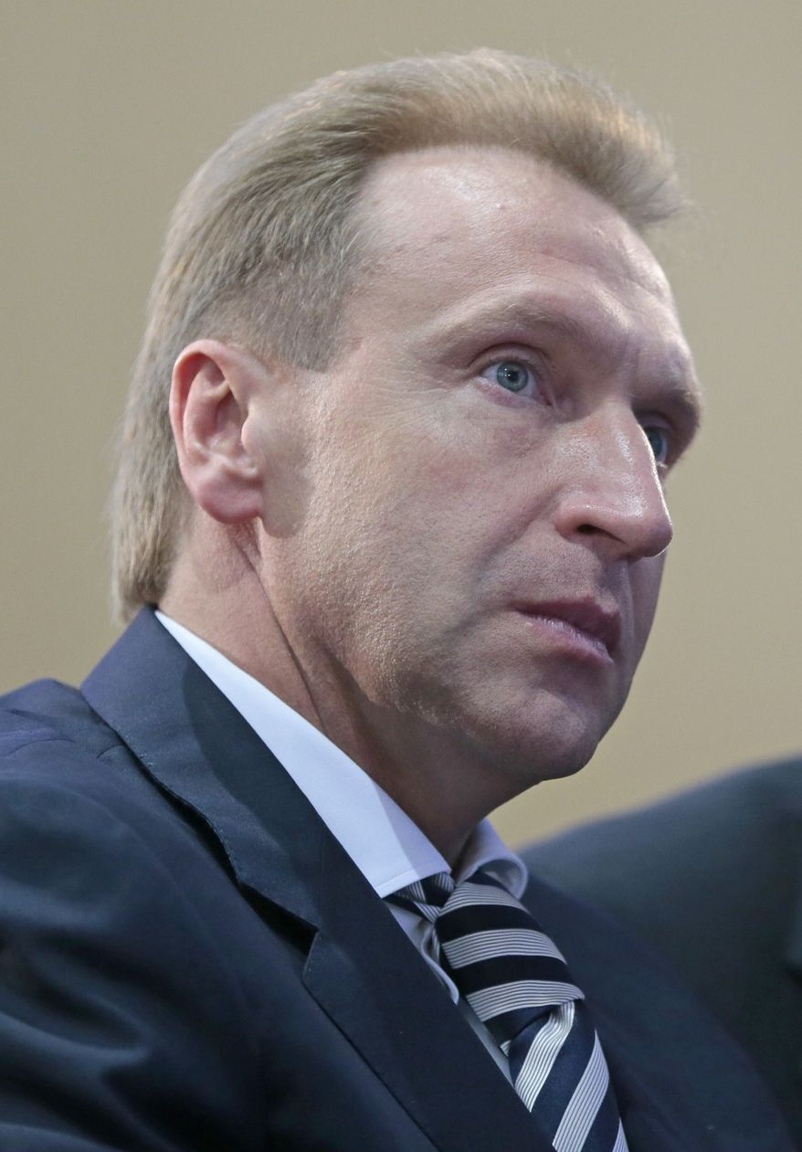 **FILE** Russian First Deputy Prime Minister Igor Shuvalov (Associated Press)