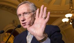 New allegations over the EB-5 program, which has snagged one nomination to the Homeland Security Department, now threatens to embroil Senate Majority Leader Harry Reid, Nevada Democrat. (AP Photo/J. Scott Applewhite)