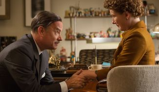 "** FILE ** Tom Hanks portrayed Walt Disney in the movie ""Saving Mr. Banks."" (Disney via Associated Press)"