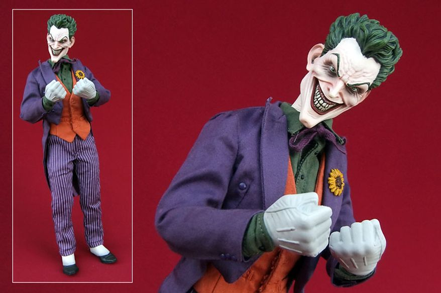 Sideshow Collectibles' sixth scale Joker is ready for a fight. (Photo by Joseph Szadkowski/The Washington Times)