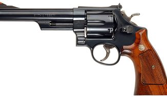 No. 2 Smith & Wesson Model 29 .44 Magnum revolver.