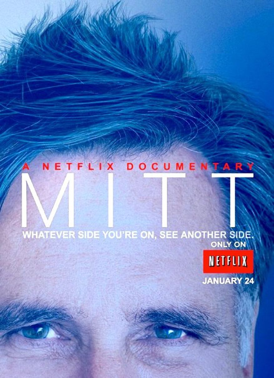 """""""Mitt,"""" a Netflix documentary featuring behind-the-scenes details and personal moments from Mitt Romney's presidential campaign, debuts next month. (NETFLIX)"""