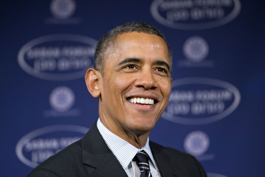 FILE - In this Dec. 7, 2013 file photo, President Barack Obama smiles as he arrives at the  Saban Forum to speak about the Middle East at the Willard Hotel in Washington. Obama's approval ratings for handling foreign policy issues generally top his ratings for most domestic issues, including the economy and health care, according to a new Associated Press-GfK poll. But the poll also suggests a majority of Americans want the president to pull troops out of Afghanistan faster than he's doing, and many are skeptical about a tentative nuclear deal with Iran.  (AP Photo/Jacquelyn Martin)