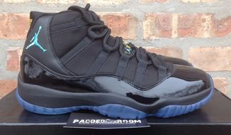 Air Jordan 11 Retro Gamma Blue men's shoe (Screen grab from eBay)