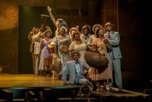 """""""The Gershwins' Porgy and Bess"""" will be performed at the National Theatre in Washington on Christmas week. (Photograph by Michael J. Lutch)"""
