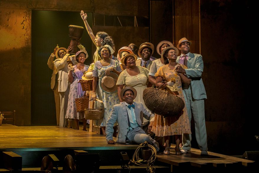 """The Gershwins' Porgy and Bess"" will be performed at the National Theatre in Washington on Christmas week. (Photograph by Michael J. Lutch)"