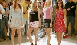 "** FILE** Lindsay Lohan starred in 2004's ""Mean Girls."" (Associated Press)"