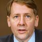 "Richard Cordray, director of the Consumer Financial Protection Bureau, has been asked about the method to determine whether an auto creditor's portfolio shows ""disparate impact"" on minorities. (Associated Press)"