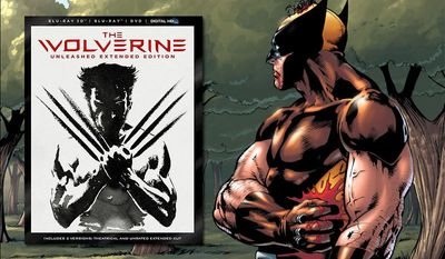 The Wolverine: Unleashed Extended Edition Blu-ray package contains a code to download a digital comic book co-written by Stan Lee.  (Courtesy 20th Century Fox Home Entertainment)
