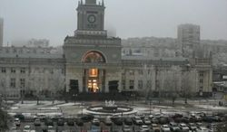 "An explosion ignites the railway station in Volgograd, the second terrorist attack in southern Russia in three days. The leader of the Islamist insurgency in the North Caucasus has lifted a moratorium on terrorist attacks and in a videotaped message instructed rebels to use ""maximum force"" to disrupt the Winter Games. (Associated Press)"