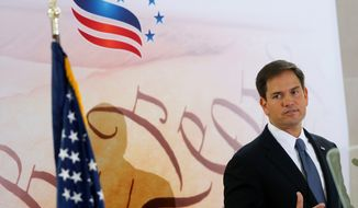 Sen. Marco Rubio started 2013 riding high in presidential polls but has closed out the year battered and bruised from taking a stand on immigration. (Associated Press)