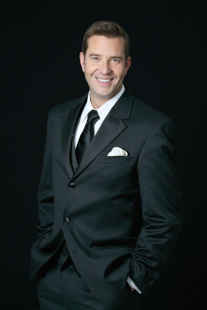 Steven Reineke will lead the National Symphony Orchestra in a show with Mr. Hall at the Kennedy Center.