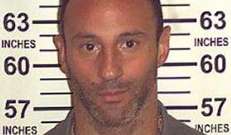 "This Aug. 2, 2013 photo provided by the New York State Department of Correctional Services shows Lillo Brancato Jr.  The former ""Sopranos"" actor convicted for his real-life role in the slaying of an off-duty police officer during a botched break-in at a Bronx home was released from prison Tuesday, Dec. 31, 2013 on parole. Brancato, 37, was released over the vehement objections of police union officials, who insisted he should have been convicted of murder. (AP Photo/New York State Department of Correctional Services)"