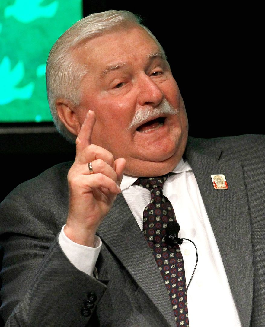 **FILE** Lech Walesa (Associated Press)