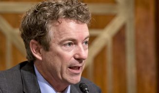 ** FILE ** Sen. Rand Paul, R-Ky. (AP Photo/J. Scott Applewhite, File)