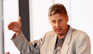 The Republican Libertarian Caucus has organized a meet and greet later this month with Gary Johnson of the Libertarian Party. (ASSOCIATED PRESS)