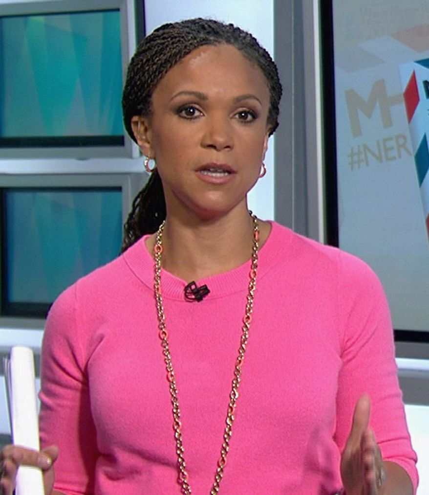 MSNBC host Melissa Harris-Perry last week offered a tearful apology for her controversial on-air comments about Mitt Romney's infant grandson.