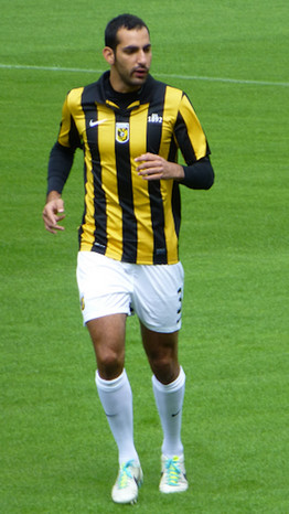 Dan Mori, player of Vitesse, training at National Sports Centre Papendal. (Wi