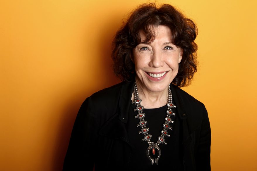 ** FILE ** In this Friday, March 15, 2013, file photo, actress Lily Tomlin poses for a portrait at the Four Seasons Hotel, in Los Angeles. Tomlin's publicist Jennifer Allen told People Magazine and other media outlets Tuesday Jan. 7, 2013, that the 74-year-old actress and comedian married 78-year-old Jane Wagner in a private New Year's Eve ceremony in Los Angeles. (Photo by Matt Sayles/Invision/AP, File)