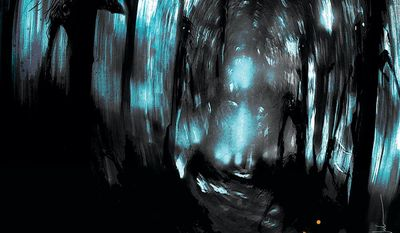 """This comic book cover image released by Image Comics shows """"Wytches,"""" from the new series by Scott Snyder and Jock. Snyder says he and artist Jock are taking everything about witches in popular culture _ cauldrons, spells, Samantha, Sabrina and other charmed aspects _ and going back to the roots of the legend and folklore. (AP Photo/Image Comics)"""