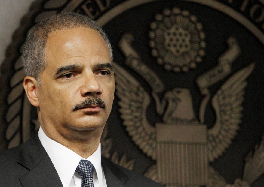 Attorney General Eric Holder says same-sex couples married in Utah in the past two weeks should be eligible for federal benefits, despite a Supreme Court stay on the legislation. (associated press)