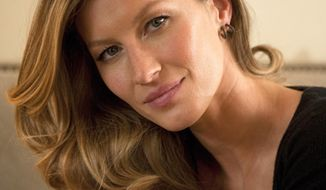 This Jan. 6, 2014 photo shows Fashion model Gisele Bundchen posing for a portrait in New York. Bundchen is the new spokesperson for Pantene hair products. (Photo by Andy Kropa/Invision/AP)