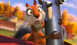 """This image released by Open Road Films shows Andie, voiced by Katherine Heigl, in a scene from """"The Nut Job."""" (AP Photo/Open Road Films)"""