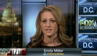 Emily Miller on Fox Business, Jan. 13, 2013