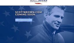 Scott Brown leads GOP hopefuls for a U.S. Senate seat from New Hampshire in a primary match-up, according to a new survey. (SCOTTBROWN.COM)