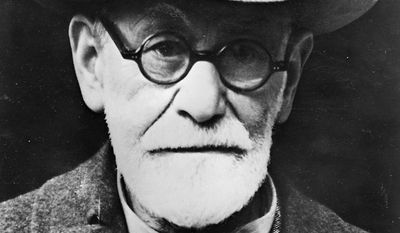 Our picture of September 09, 1939 shows Austrian born Sigmund Freud, psychoanalist. (AP-PHOTO)