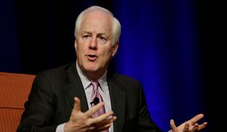 Texas Republican Sen. John Cornyn (Associated Press) **FILE**