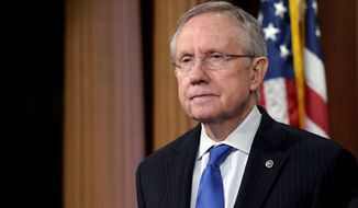 Senate Majority Leader Harry Reid (Associated Press)