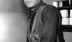 """Russell Johnson as Gib Scott from the television program """"Black Saddle."""" (Wikimedia Commons)"""