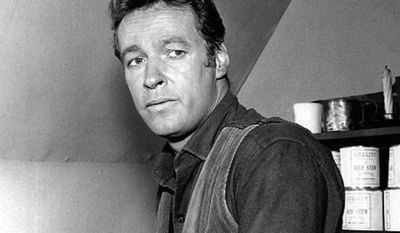 "Russell Johnson as Gib Scott from the television program ""Black Saddle."" (Wikimedia Commons)"