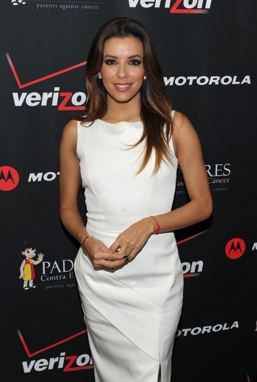 Mark Sanchez briefly dated actress Eva Longoria in 2012.