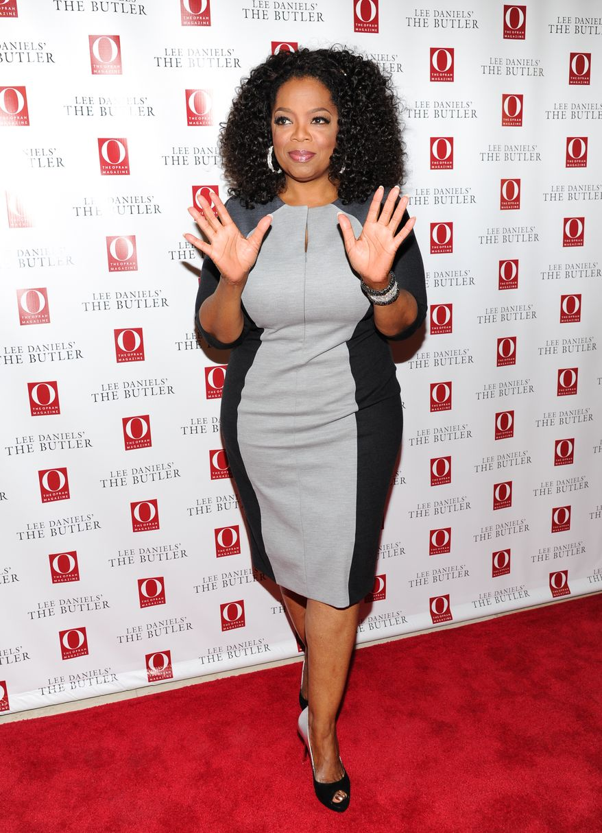 "Oprah Winfrey was also snubbed in the best supporting actress category for her work in Lee Daniels' The Butler. Media mogul and actress Oprah Winfrey attends a special screening of  ""Lee Daniels' The Butler"" hosted by O, The Oprah Magazine at Hearst Tower on Wednesday, July 31, 2013 in New York. (Photo by Evan Agostini/Invision/AP)"