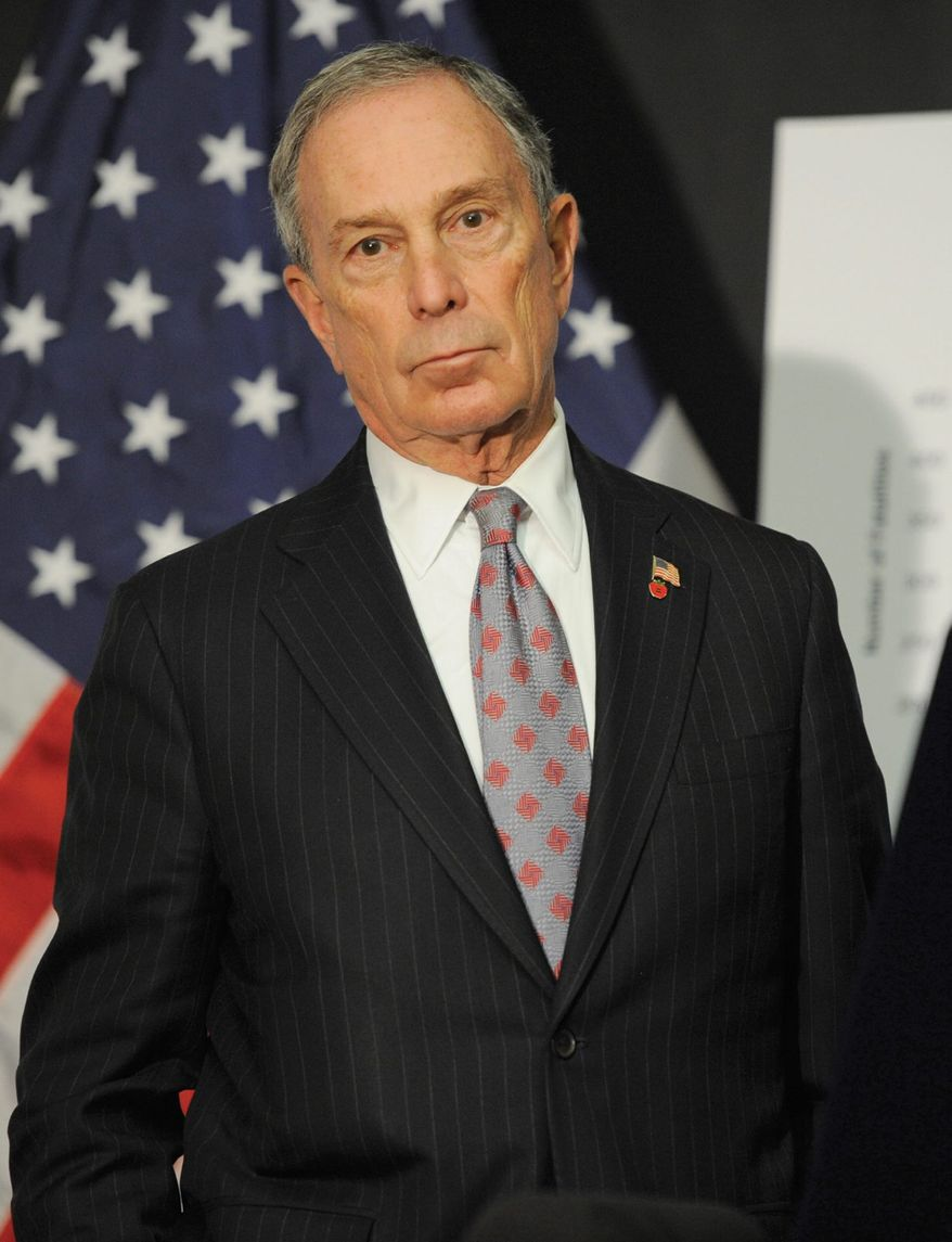 Former New York City Mayor Michael R. Bloomberg has plunged back into work at the Manhattan headquarters of Bloomberg News, where he has attended every news meeting in recent days to have his say and weigh in on the big stories. (ASSOCIATED PRESS)