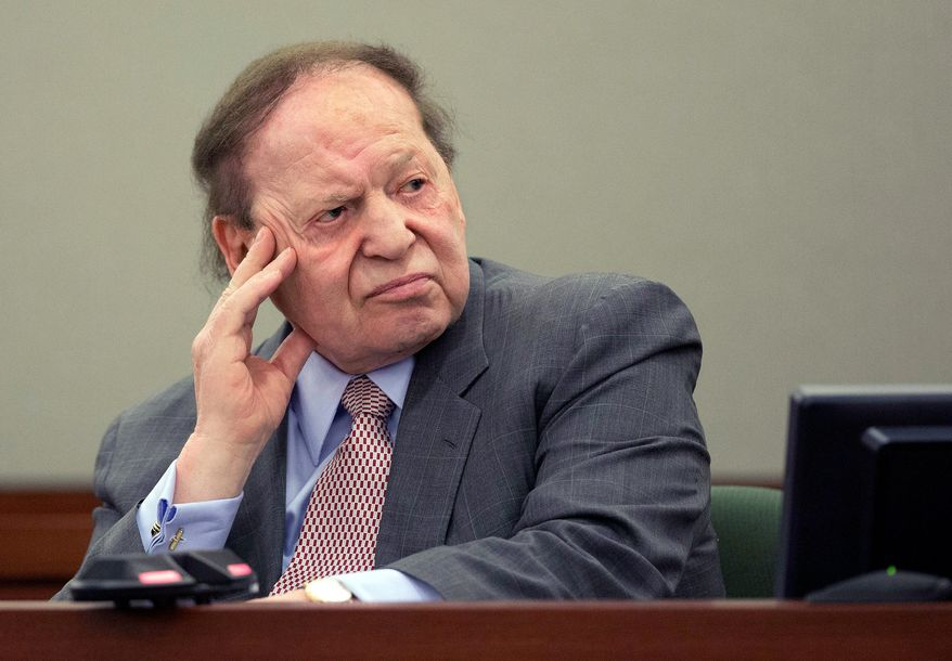 Big Deal: Sheldon Adelson of Las Vegas Sands Corp. says he will spend whatever it takes to defeat online gambling, but he has plenty of opponents with deep pockets. (Associated Press)