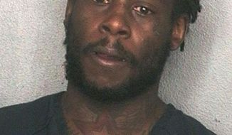 This arrest photo made available by the Broward County Sheriff's office, shows Cleveland Browns wide receiver Davone Bess after he was arrested Friday, Jan. 17, 2013. Bess was arrested after acting erratically and confronting a police office at Fort Lauderdale/Hollywood International Airport. (AP Photo/Broward County Sheriff's Office, HOPD)