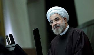 Hassan Rouhani     Associated Press photo