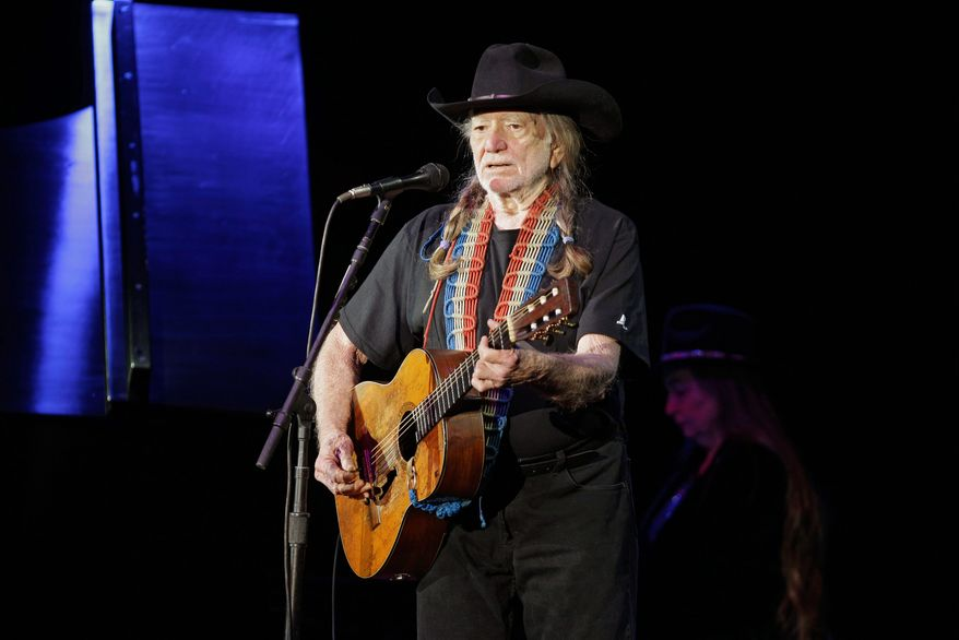 The Grammy Awards will tip their hats to Willie Nelson (left) and Merle Haggard (right), along with Kris Kristofferson. The three country music legends are scheduled to perform together with Blake Shelton, the biggest male star in Nashville today. Producers of the show promise a surprise.