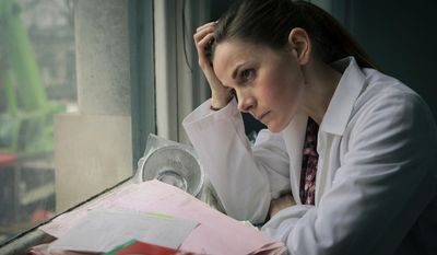 """This photo provided by PBS shows Louise Brealey, as Molly Hooper, in a scene from Season 3, """"The Empty Hearse"""" episode of Masterpiece's """"Sherlock,"""" which aired on Jan. 19, 2014, on PBS. Steven Moffat, co-creator of """"Sherlock,"""" said the show is a hit in China and many other countries. (AP Photo/PBS/Masterpiece, Robert Viglasky/Hartswood Films)"""
